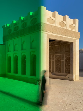 SHAHA AL KHULAIFI: CONTEMPORARY HERITAGE: THE SPACES IN BETWEEN