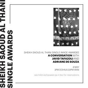 A CONVERSATION WITH JAVID TAFAZOLI + ADRIANE DE SOUZA
