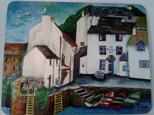 Placemat - The Blue Peter, Polperro