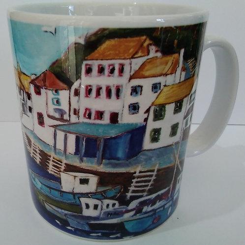 Mug - Polperro Harbour