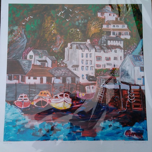 Beautiful Polperro - Limited Edition Print
