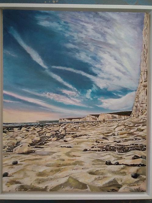 Beach - **ORIGINAL** by Charlotte Iggulden