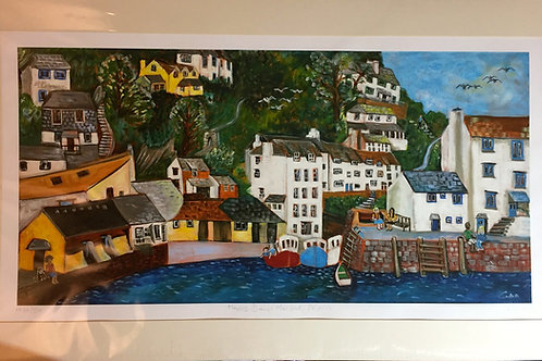 Happy Days Harbour Limited Edition Print