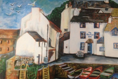 THE BLUE PETER INN PRINT