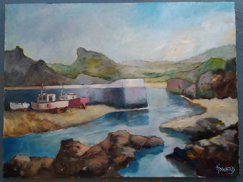 Boscastle Harbour - **ORIGINAL**