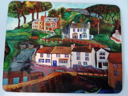 Placemat - Polperro Cottages