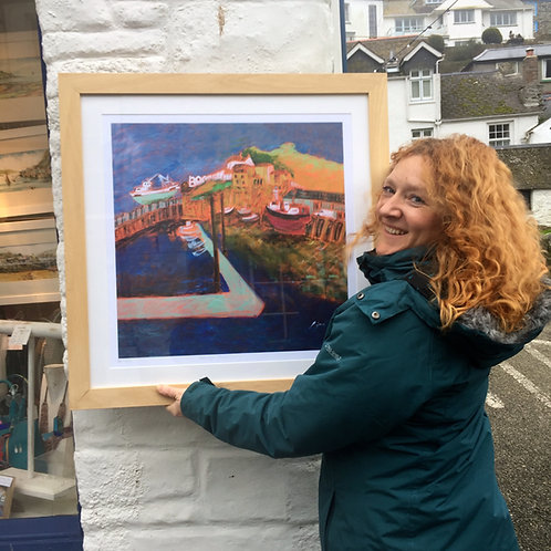 Newlyn Pathway Limited Edition Print