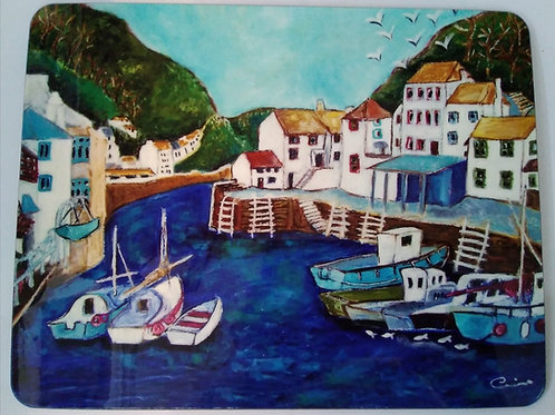 Placemat - Polperro Harbour