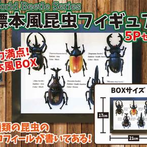 標本風昆虫フィギュア5Pセット.jpg