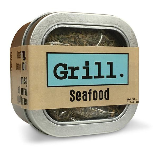 Seafood Grilling Herbs - Rosemary, Lemon & Dill