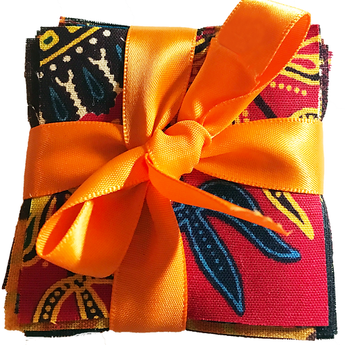 African Fabric Squares-40-5X5