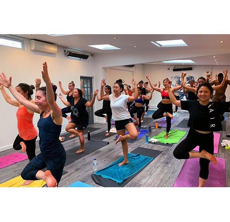 hot yoga fusion