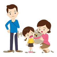 family-comforting-crying-boy-sad-childre