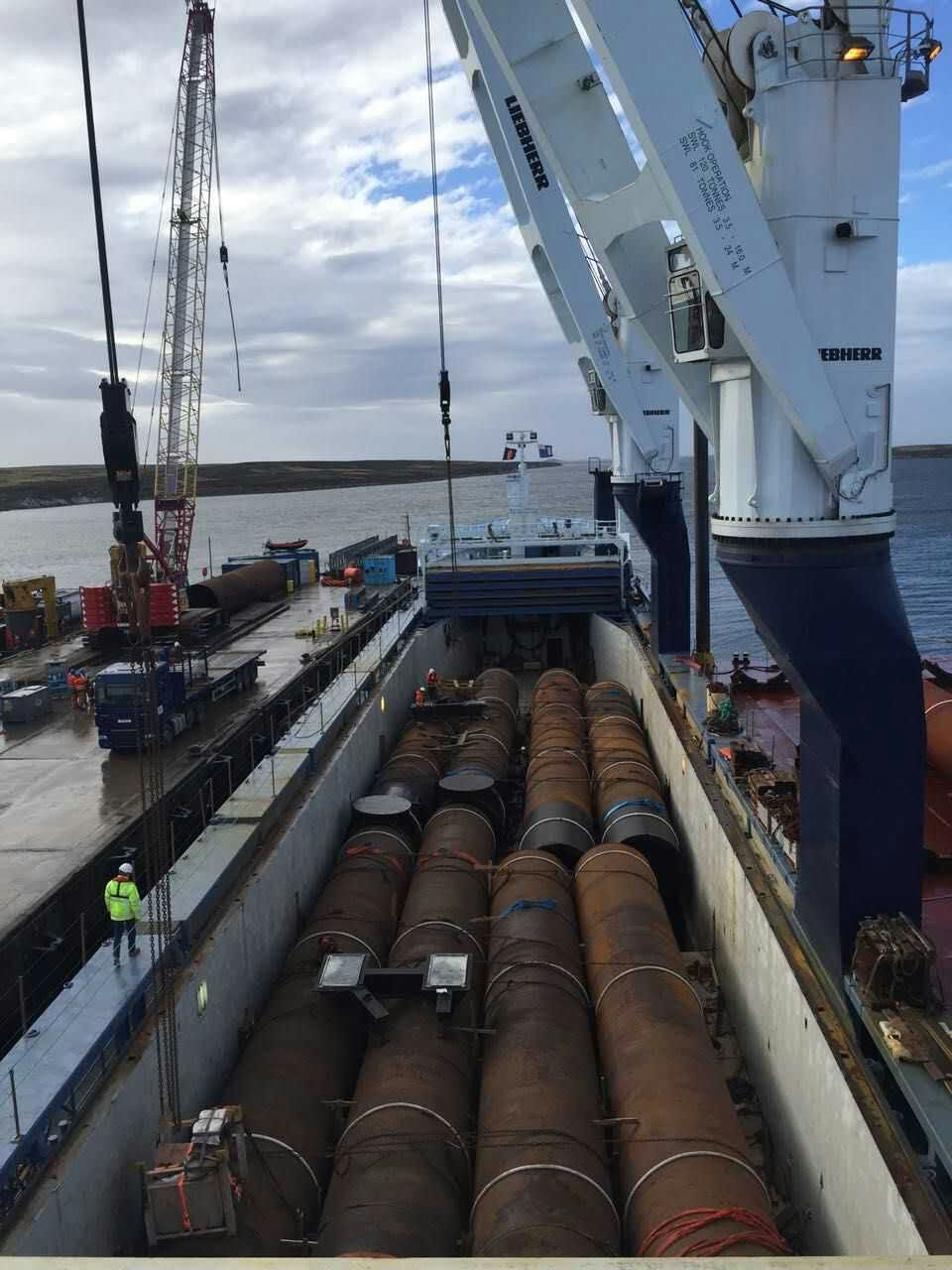 Loading of Pipes