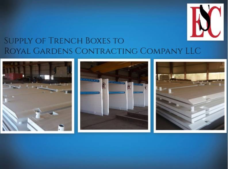 supply of trench boxes