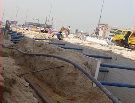 Trench Box Rental | Improvement of Al Wasl Road – Phase 1B – Interchange 2.5, JLT, Dubai, UAE