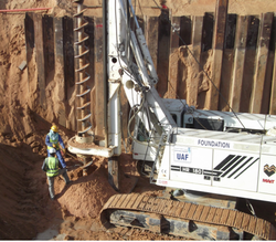 Pre-drilling works