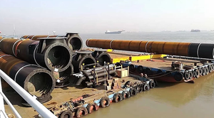 harbour steel pipes