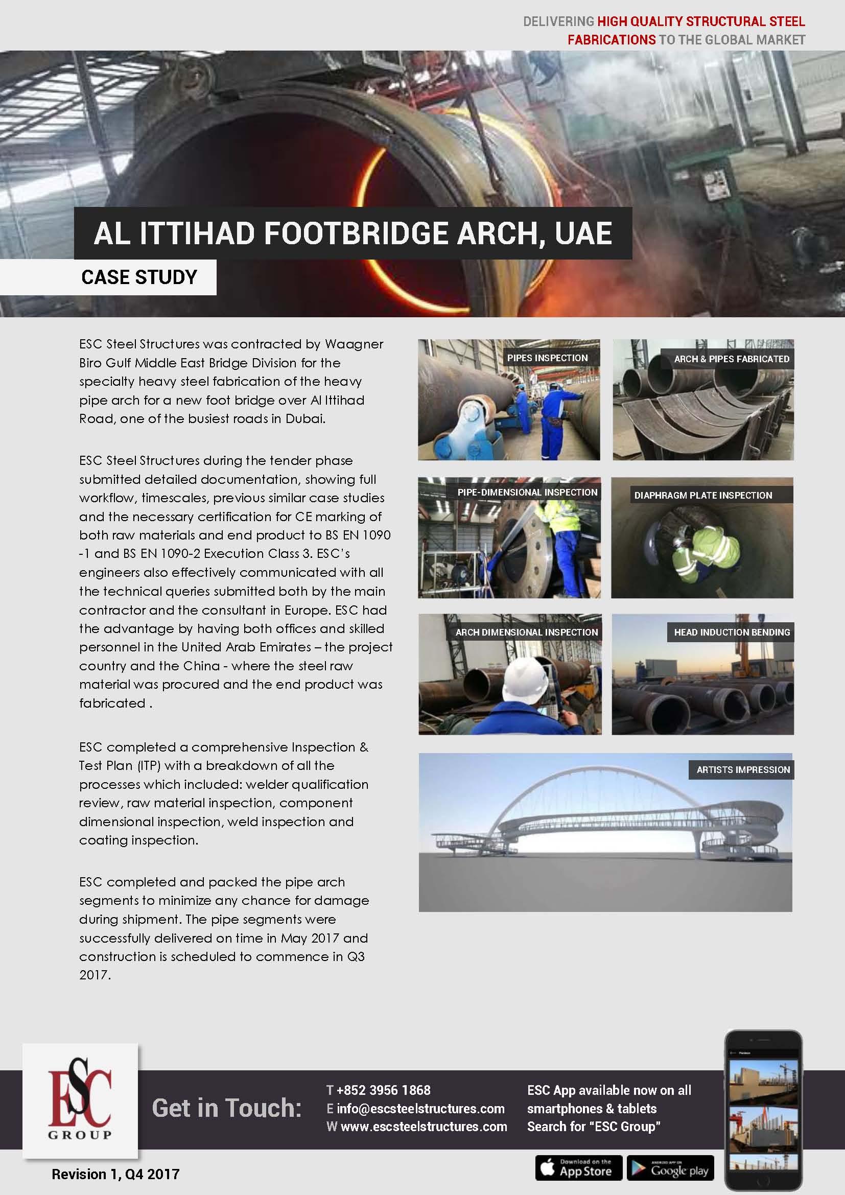 Al Ittihad Footbridge Arch