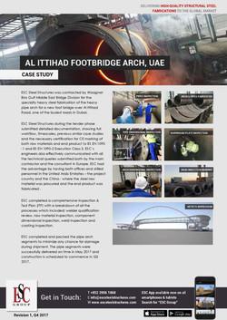 Arco da Ponte Pedonal da Rua Al Ittihad