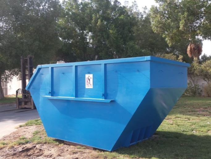 waste skip fabrication