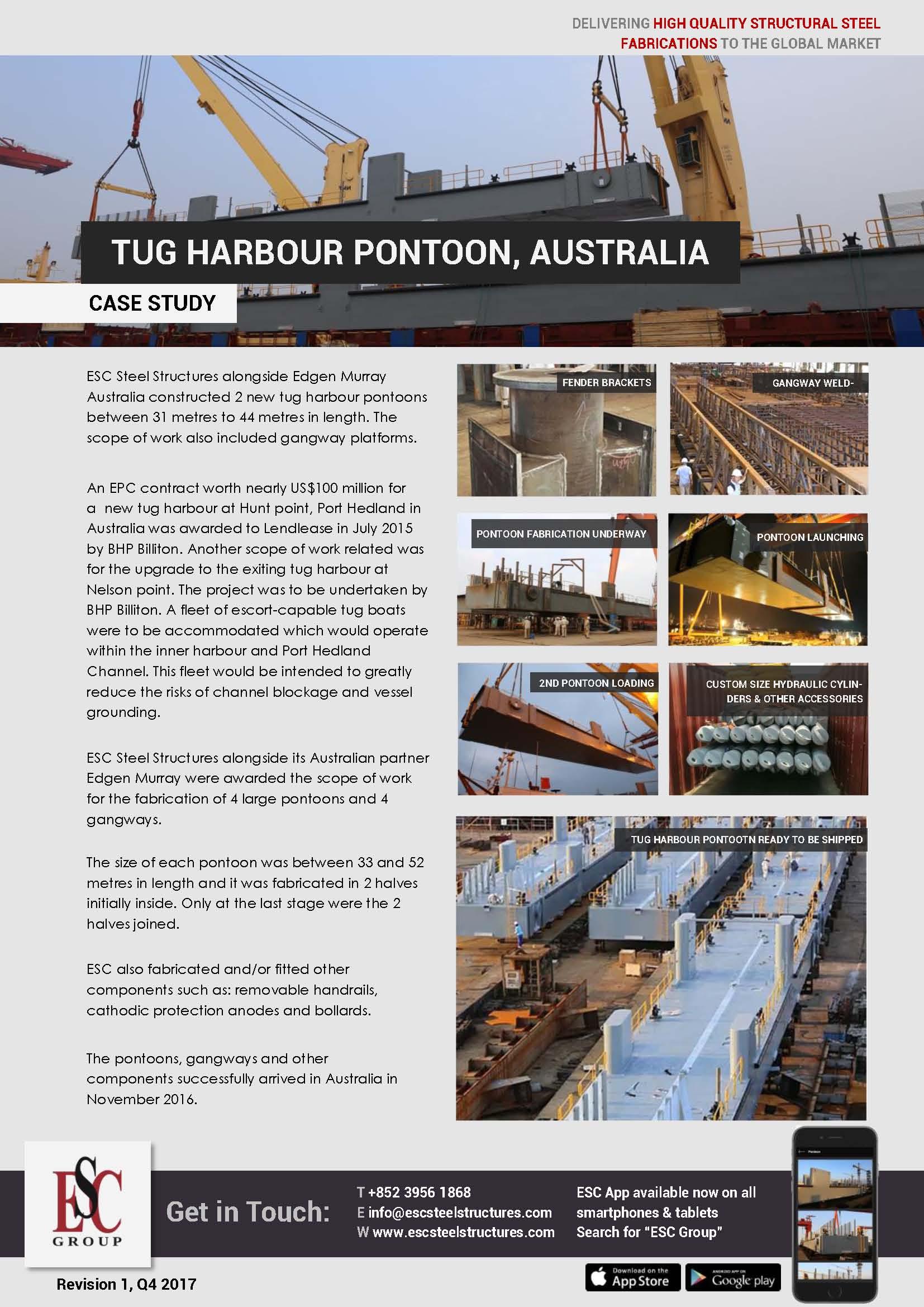 Tug Harbour Pontoon, Australia