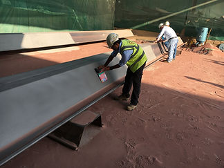 Sheet pile painting inspection
