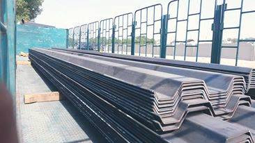 Trench Sheet Supply to Kingdom of Bahrain