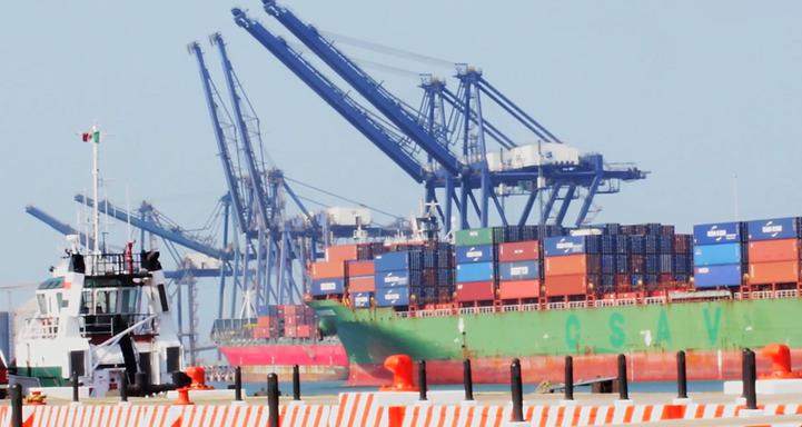 Port of Veracruz construction