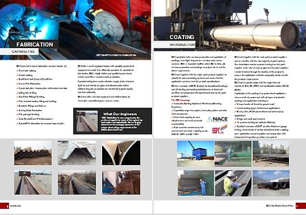 fabrication and coating catalogue