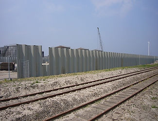 Installatino of sheet piles