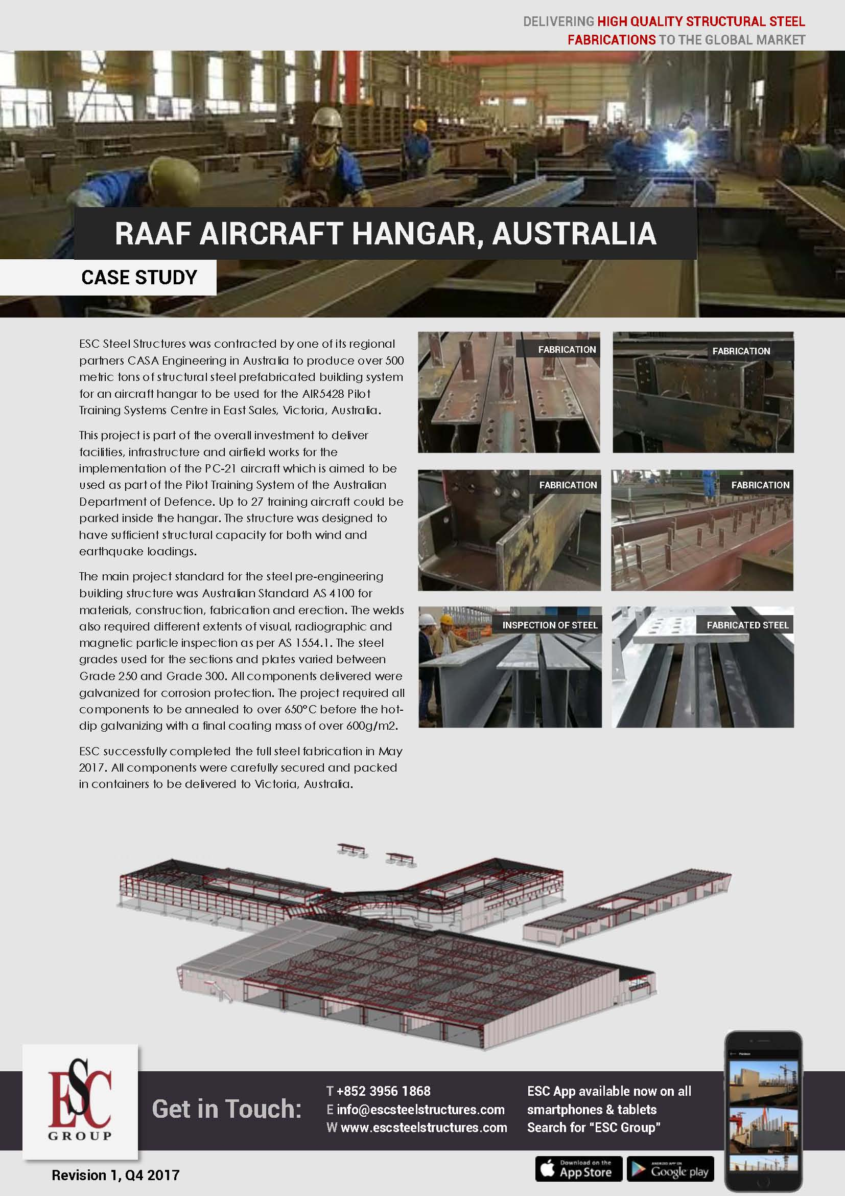RAAF Aircraft Hangar, Australia