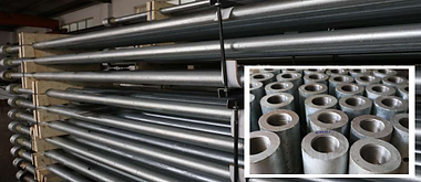 Production of tie back system