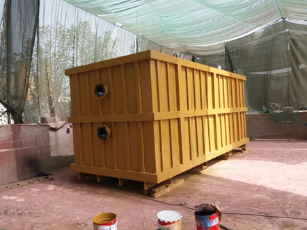 Fabrication of Water Tanks for GTC Project, UAE