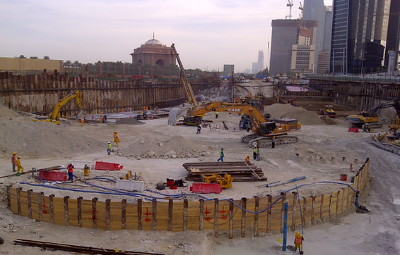 Baynoonah Tunnel Construction Project, Abu Dhabi, UAE