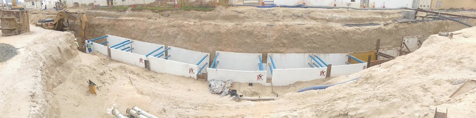 Chilled Water Pipeline Nad Al Sheba