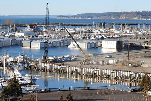Port of Everett construction