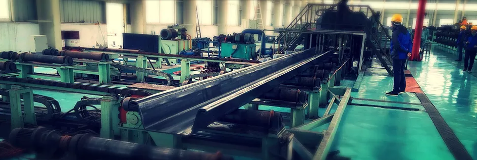 Sheet piles manufacturing