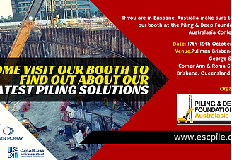 Piling & Deep Foundations Australasia Conference 2016