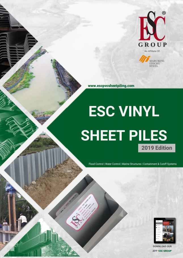 Vinyl Sheet Pile Catalogue Cover