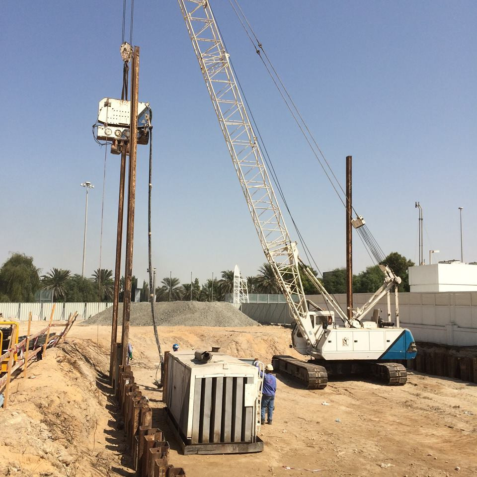 Design, Supply, Installation and Extraction for the Temporary Shoring Works  using Sheet Piles