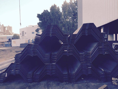 Fabrication of Sheet Pile Component for National Marine Dredging Company