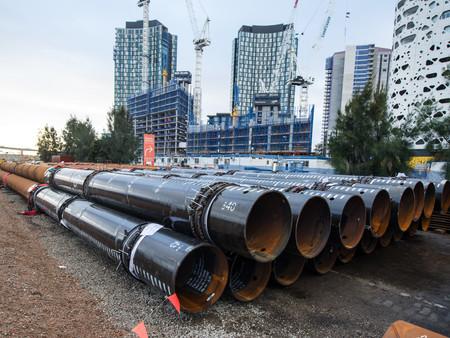 ESC supplied materials to Melbourne's CBD, Victoria Harbour Project in Australia