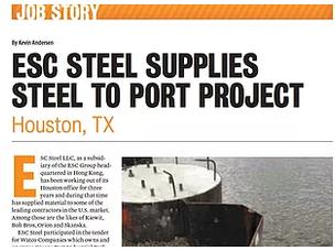ESC Steel LLC appears in Pilebuck Magazine