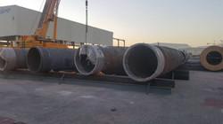 Steel bridge fabricated
