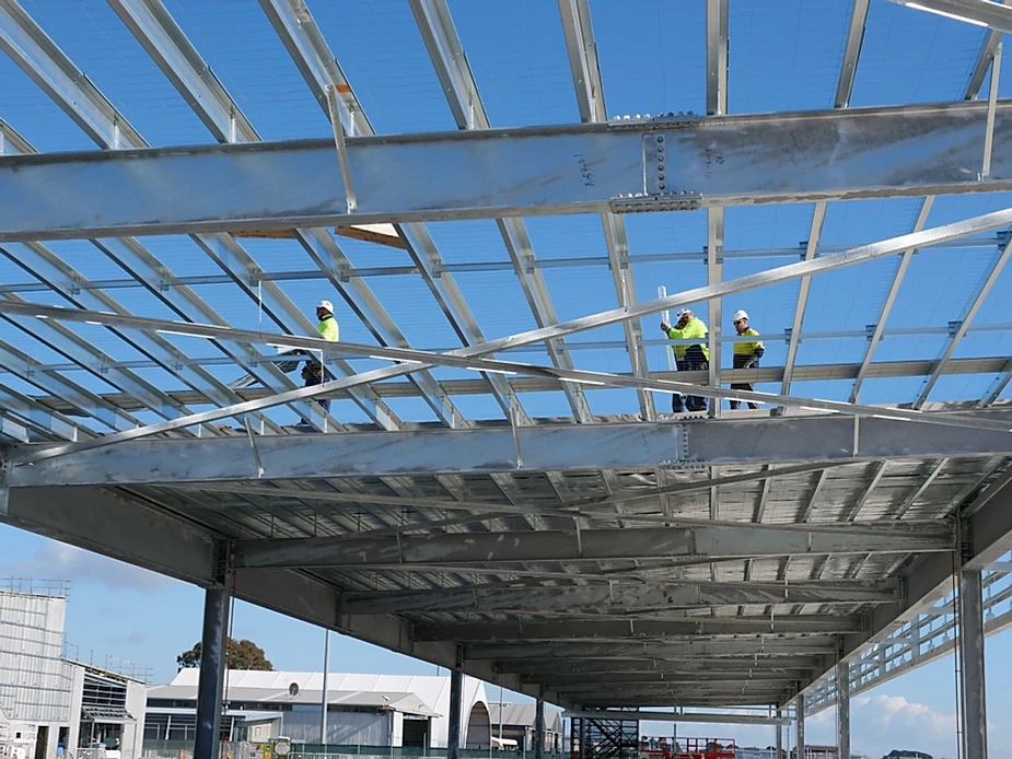 structural steel prefabricated building