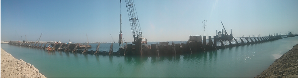 Sheet piles corrosion protection