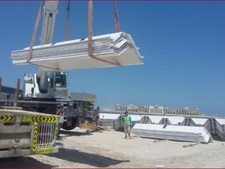 Protective Coating & Fabrication of Corner Piles | Palm Deira Access Bridge
