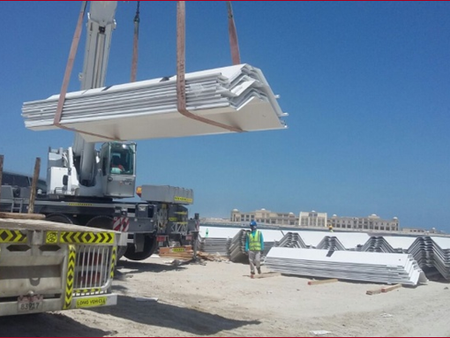 Protective Coating & Fabrication of Corner Piles | Palm Deira Access Bridge