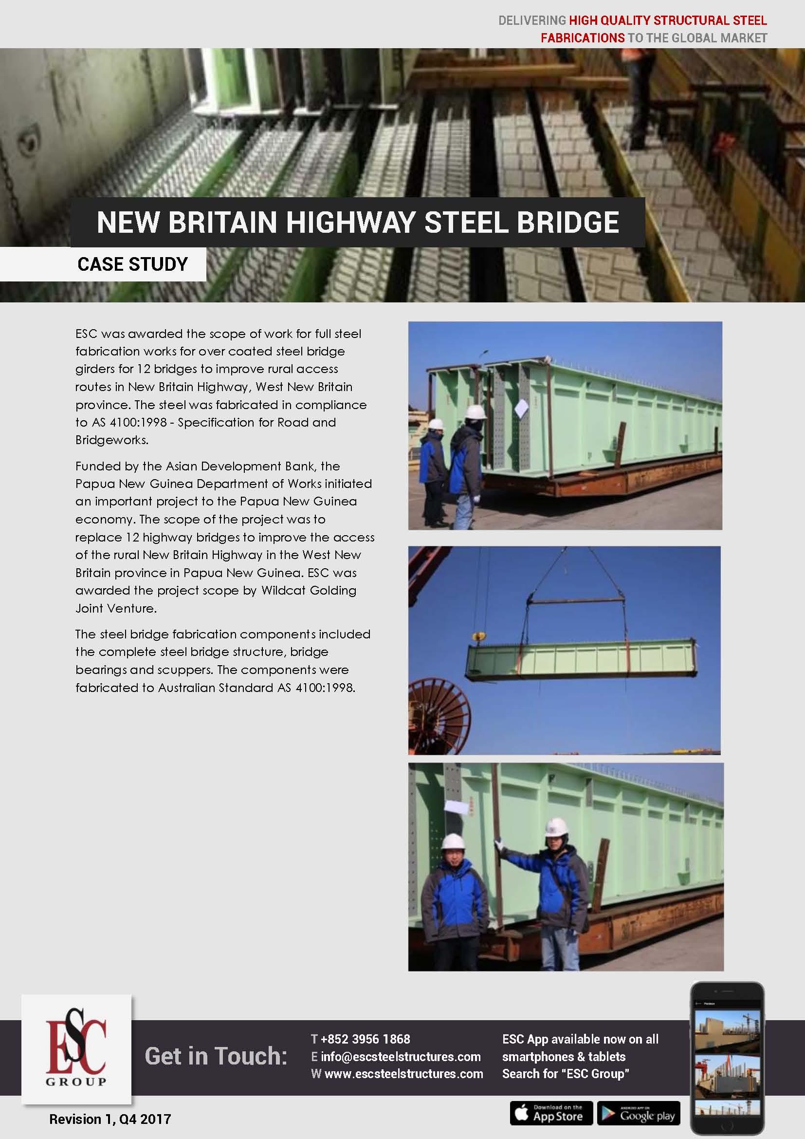New Britain Highway Steel Bridge